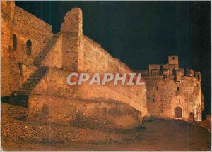 Postcard Modern Thessaloniki The Walls of Night