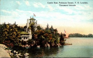 New York Thousand Islands Castle Rock Pullman Estate F O Lowden 1923