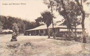 Virginia New Market The Lodge and Entrance House Endless Caverns Albertype
