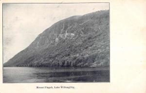 Lake Willoughby Vermont Mount Pisgah Waterfront Antique Postcard K84308