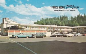 Exterior,  Prince George TraveLodge,  Prince George,  B.C.,  Canada,  40-60s