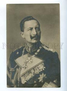 223499 GERMANY Emperor Wilhelm II photo old postcard