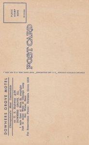 DOWERS GROVE , Illinois , 1930-40s ; Downers Grove Motel