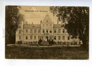 247745 POLAND KOSTERNITZ Krs. Schlawe Vintage postcard