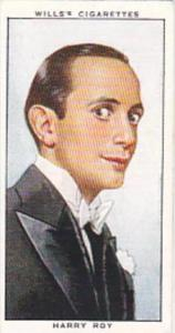 Wills Cigarette Card Radio Personalities 2nd Series No 47 Harry Roy