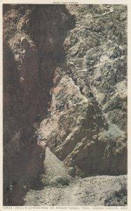 GRAND CANYON NATIONAL PARK, Arizona, 1910s Devil's Corkscrew ; Fred Harvey