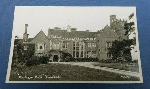 Vintage Real Photo Postcard Horham Hall Thaxted Essex    F1C