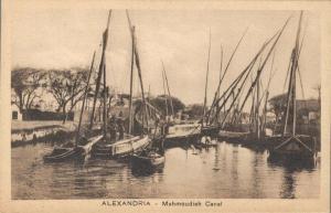 Egypt Alexandria Mahmoudieh Canal 02.06