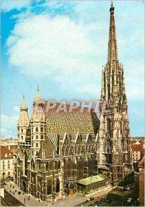 Postcard Modern Vienna Cathedrale St Etienne