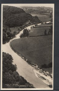Herefordshire Postcard - View of River From Yat Rock, Symonds Yat    RS9601