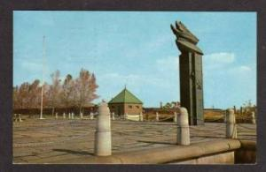DE Carl Miles Monument WILMINGTON DELAWARE Postcard PC