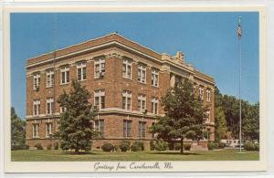 Pemiscot County Court House, Greetings From Caruthersville, Missouri, 1940-1960s