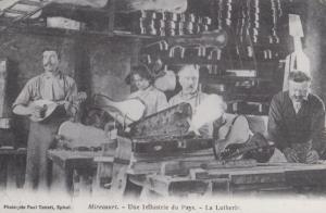 Mirecourt Une Industrie Du Pays Reproduction La Lutherie French Postcard