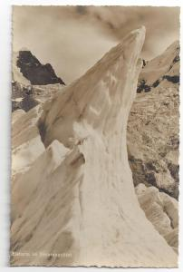 RPPC Switzerland Eisturm im Berninagebiet Ice Tower Alps