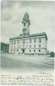 UND/B Soldiers' Monument Mt. Vernon NY New York 1907