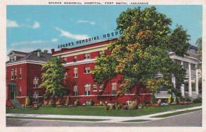 Arkansas Fort Smith Sparks Memorial Hospital 1939
