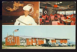 Southold, New York/NY Postcard, Seafood Barge Restaurant