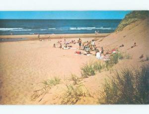 Pre-1980 BEACH SCENE Cavendish - Near North Rustico & New Glasgow PE d7101