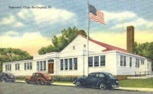 Veterans' Club - Burlington, Vermont