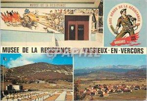 Postcard Modern Museum of the Resistance Vassieux en Vercors