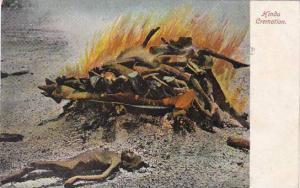 India A Hindu Cremation 1907