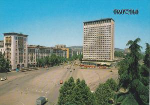 Adzara Hotel in Constitution Square, Tbilisi, Georgia, 1989