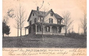 Maple Hill Cottage Rock Hill, New York Postcard