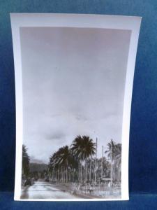Postcard New Guinea Grogan RPPC Real Photo WW2 One of Many New Guinea Highways