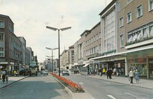 Boots The Chemists High Street Exeter 1960s Postcard