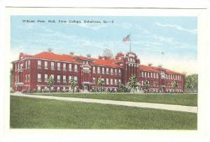 Exterior, William Penn Hall,Penn College,Oskaloosa,Iowa,00-10s