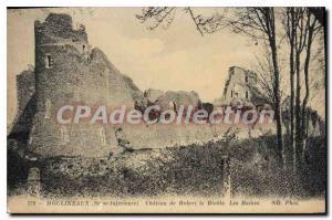 Postcard Old Moulineaux Seine Inferieure Ch?teau de Robert le Diable Ruins