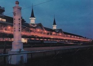 Kentucky Louisville Churchill Downs At Night
