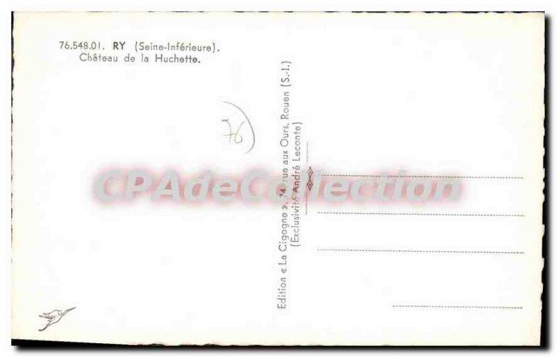 Postcard Old Ry Chateau De La Huchette