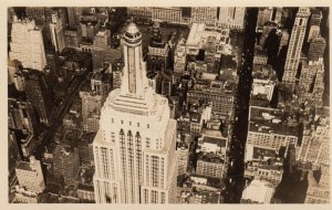 RP: NEW YORK CITY , 1930s ; Empire State Building from top