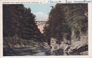 Quechee Gulf Near White River Junction Vermont 1924