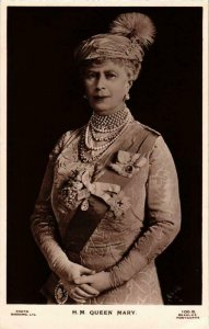 CPA AK Queen Mary BRITISH ROYALTY (679089)