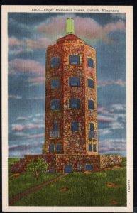 Minnesota DULUTH Enger Memorial Tower - LINEN