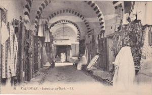 Tunisia Kairouan Interieure du Souk