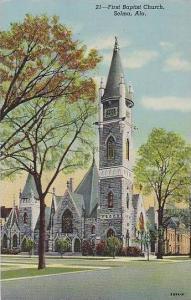 Alabama Selma First Baptist Church
