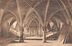 France Saint-Hubert - L'Eglise abbatiale, La crypte (XVIe s.) CPA