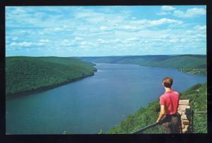 Warren/Kane/Bradford,Penn/PA Postcard,Kinzua Dam/Jakes Rocks