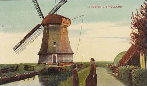 Windmill ; , Netherlands, 00-10s #2
