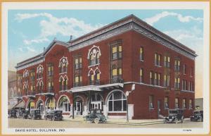 Sullivan, N.D., Davis Hotel, early 1900's cars,