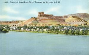 Castlerock from Green River WY, Wyoming - Along Highway US#20