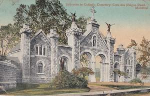 Ye Olde Mill Entrance Montreal Old Canada Postcard