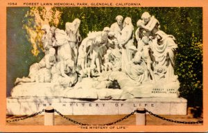 California Glendale Forest Lawn Memorial Park The Mystery Of Life
