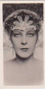 Sarony Vintage Cigarette Card National Types Of Beauty No 2 Norway  1928