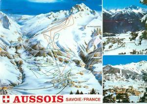 Old Vintage Postcards France Savoie Aussois # 1614A