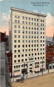 C3/ Wheeling West Virginia WV Postcard c1910 Schmulbach Building