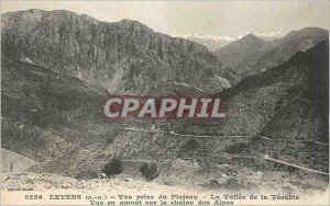 Old Postcard Levens (A M) Plateau La Vallee taking view of Vesuble View Upstr...